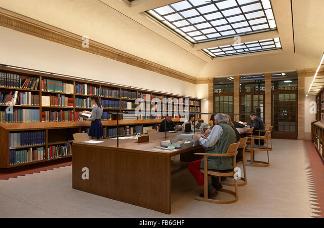 Weston Library Reading Room