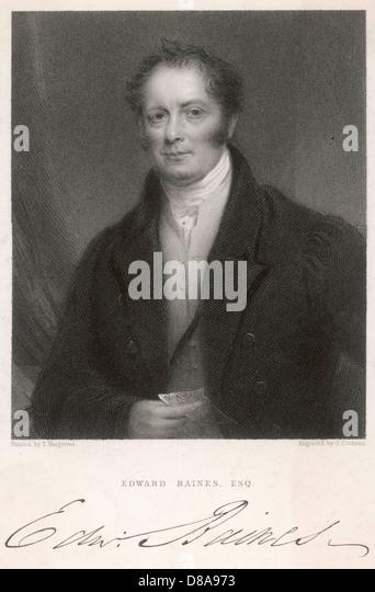 Edward Baines Elder - Stock Image