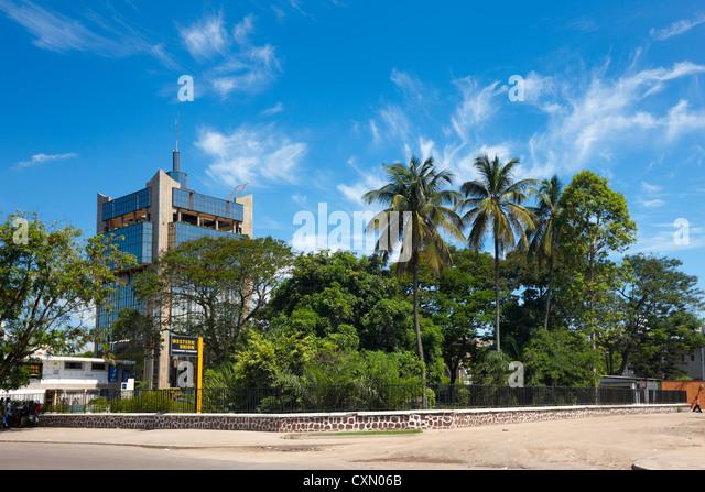 Avenue Patrick Lubumba, Brazzaville, Republic of Congo, Africa - Stock-Bilder