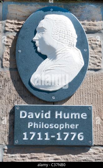 David Hume philosopher - Stock Image