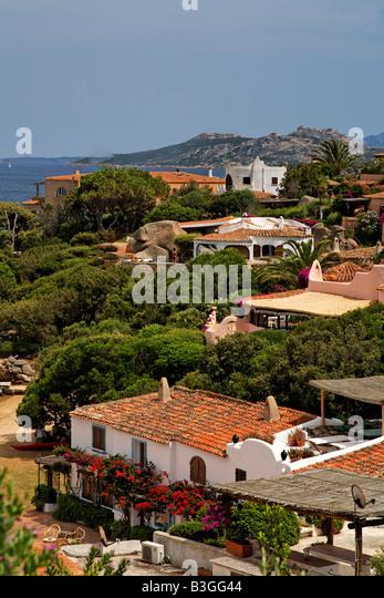 Italy Sardinia Porto Rafael - Stock Image