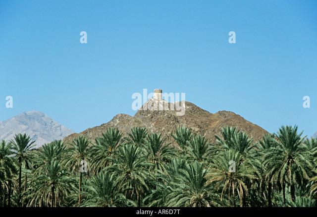 Fort in nizwa oman - Stock Image