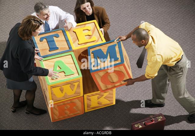 Abc blocks stock photos abc blocks stock images alamy - Putting together stylish kitchen abcs ...