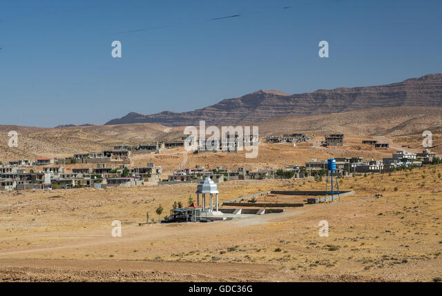 Iran,landscape near Shiraz - Stock Image