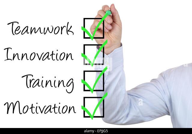 Businessman mit Business Konzept Training Innovation und Teamwork - Stock-Bilder