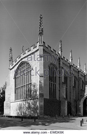 Chapel of Trinity College Cambridge - Stock Image