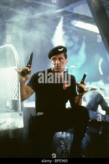 SYLVESTER STALLONE DEMOLITION MAN (1993) - Stock Image