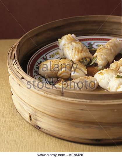 Steamed Fish And Vegetables Stock Photos & Steamed Fish And Vegetables ...