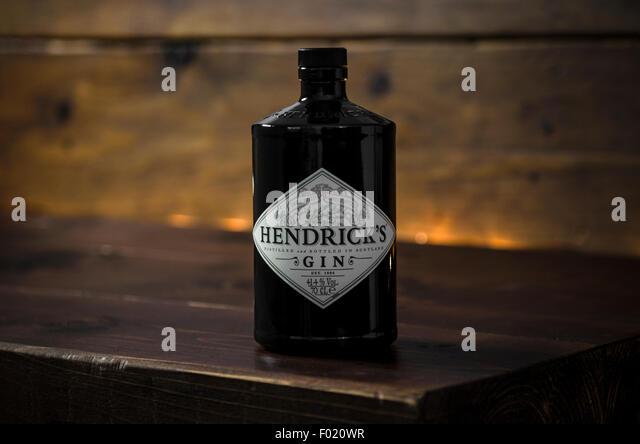 Hendrick's Gin - Stock Image