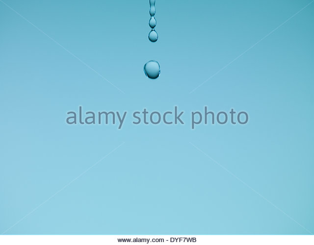 Water dripping - Stock Image