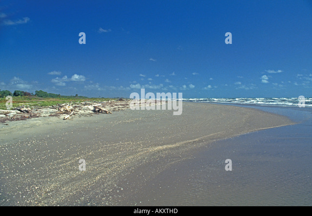 Nicaragua Miskito Coast Sandy Bay beach seascape - Stock Image