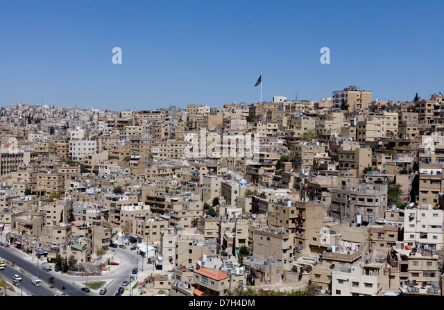 AMMAN Downtown - Stock Image