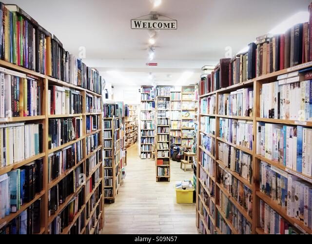 Book Shop Uk Interior Stock Photos Amp Book Shop Uk Interior