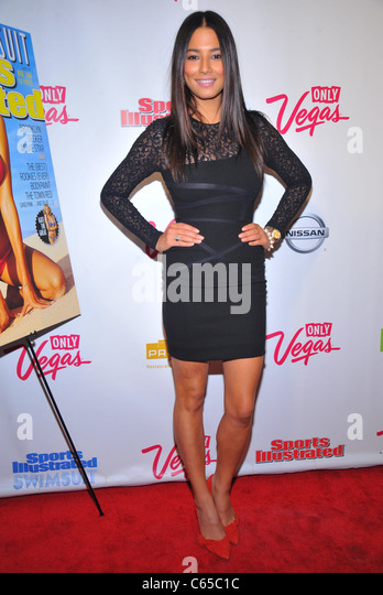 Jessica Gomes at arrivals for Sports Illustrated 2011 Swimsuit Issue Launch Party, Pranna, New York, NY February - Stock Image