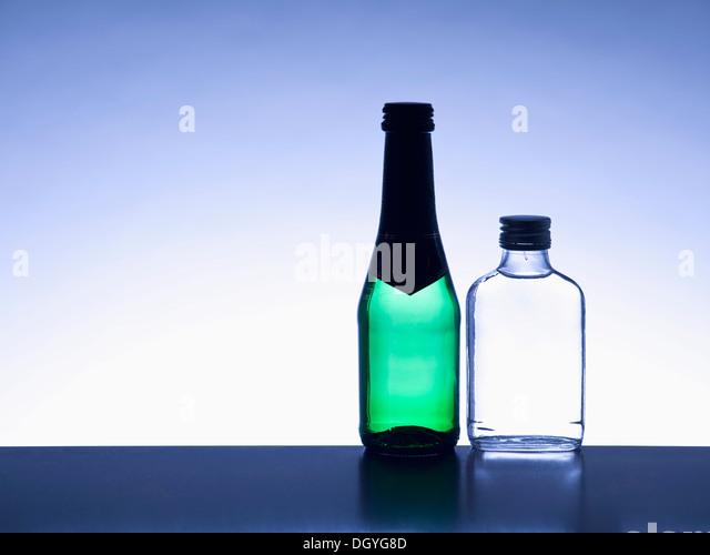 Miniature Bottles Stock Photos Amp Miniature Bottles Stock