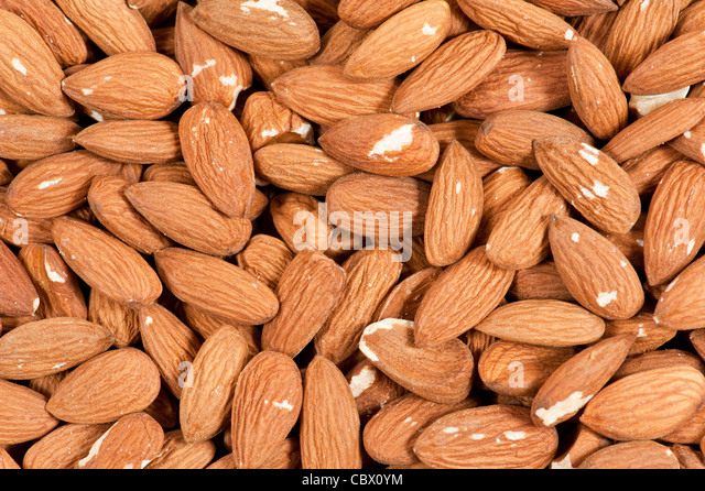 Almonds - Stock-Bilder