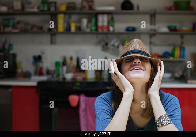 Portrait of a young artist - Stock Image