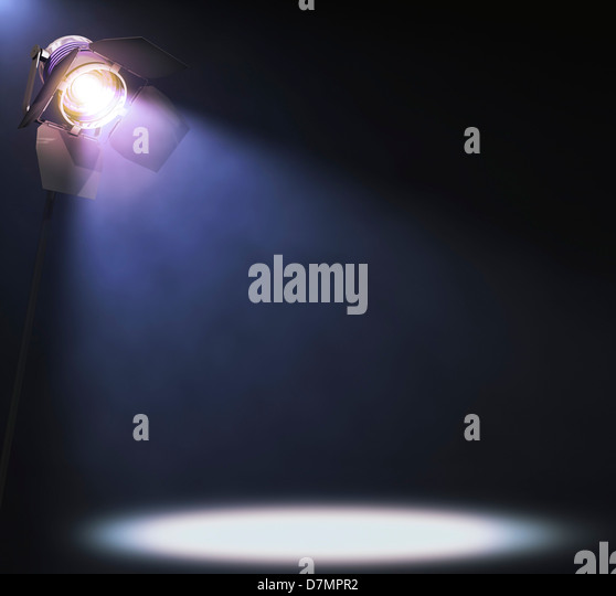 Spotlight, artwork - Stock Image