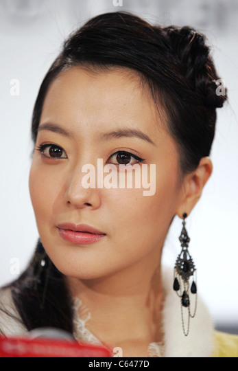 Kim Hee-Seon at the press conference for THE MYTH Premiere at Toronto Film Festival, Sutton Place Hotel, Toronto, - Stock Image