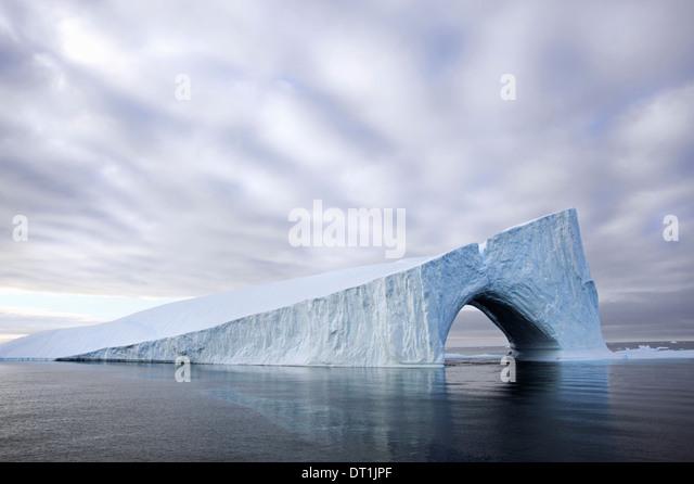 Icebergs at Baffin Bay near Greenland - Stock-Bilder