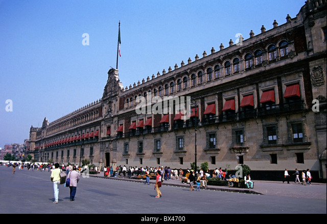 Mexico City - The National Palace building - Stock Image