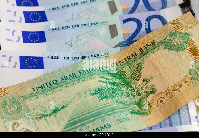United Arab Emirates UAE Dirham Bank Notes
