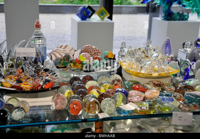 Glass souvenirs,  Vary Czech Republic - Stock-Bilder