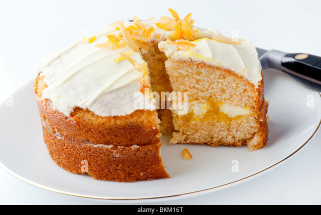 Clementine Cake - Stock Image