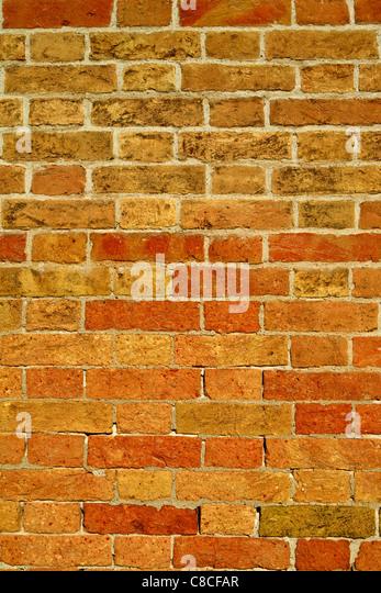 Close up of Brick wall - Stock Image