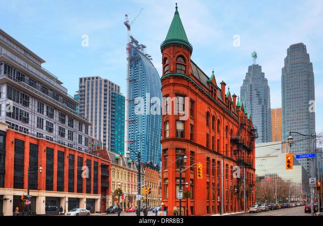 Gooderham Building, Toronto, Ontario, Canada - Stock Image