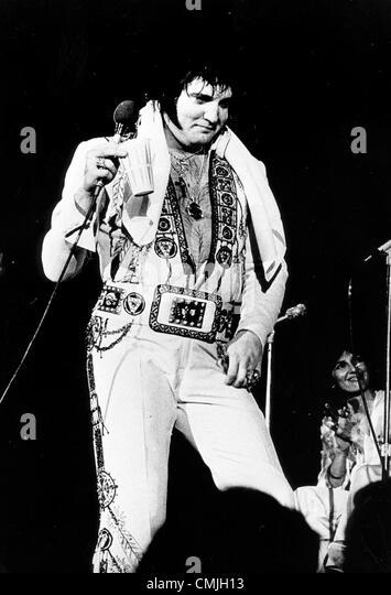Elvis death date in Perth
