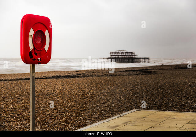 Brighton seaside. - Stock Image