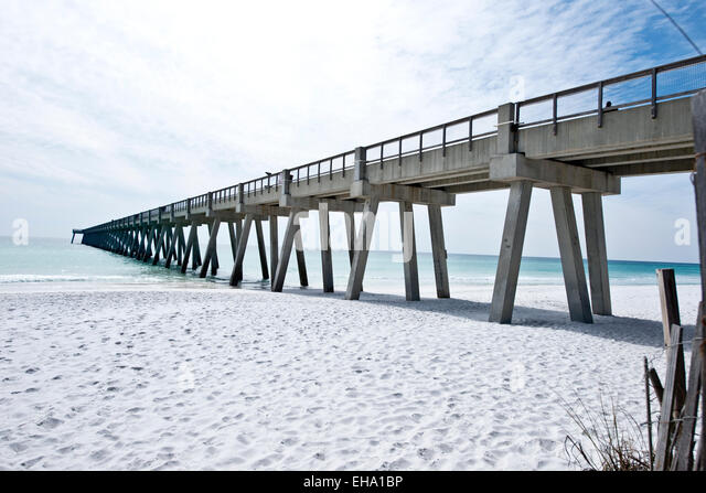 Navarre beach florida stock photos navarre beach florida for Navarre beach fishing pier