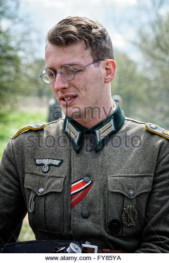 German Soldier Reenactment Stock Photos & German Soldier ...
