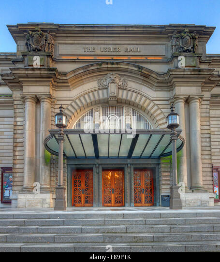 Usher Hall, Lothian Road,Edinburgh, Scotland, United Kingdom - Stock Image