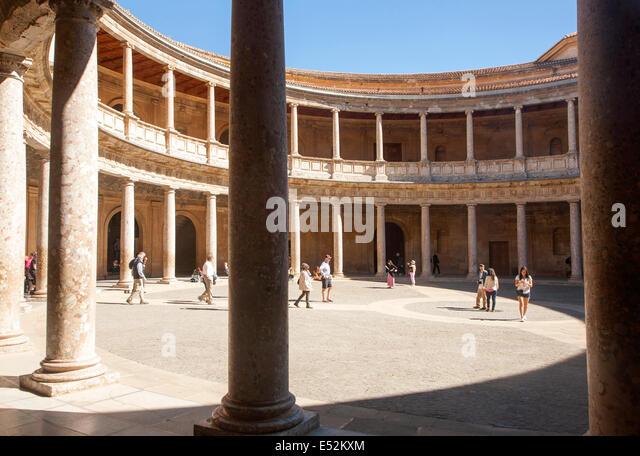 Charles V Palace Stock Photos & Charles V Palace Stock Images - Alamy