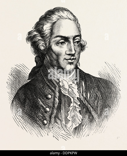 JOHN HANCOCK, a merchant, statesman, and prominent Patriot of the American Revolution. He served as president - Stock Image