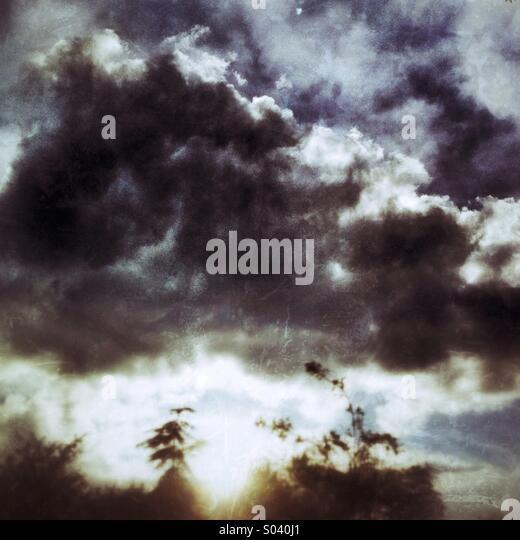 Stormy cloud - Stock-Bilder