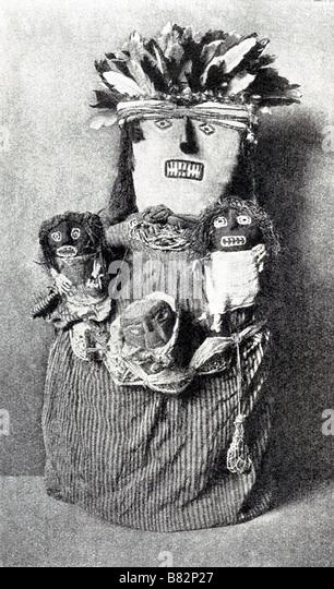 Peruvian Mummy - Stock Image