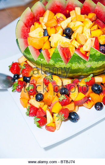 Fruit salad - Stock Image