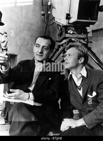 FRITZ LANG and DAVID TYRREL - Stock Image