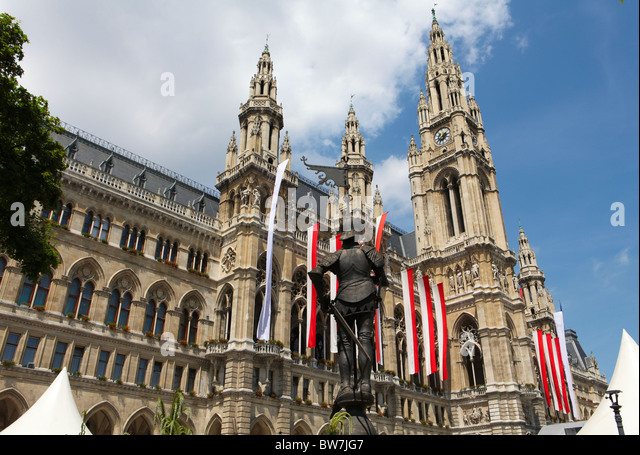 Vienna City Hall - Stock Image