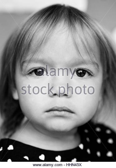 Cute toddler girl - Stock-Bilder