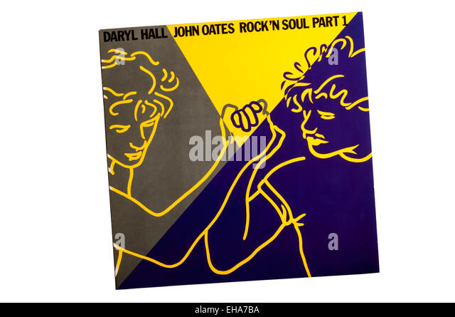 Rock 'n Soul Part 1 was a greatest hits album by American musical duo Hall & Oates, released by RCA Records - Stock Image