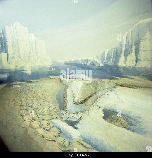 Ice age Britain - Stock-Bilder