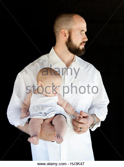Strong Dad - Stock Image