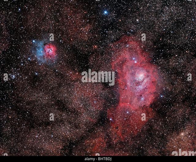 trifid lagoon nebula - photo #49