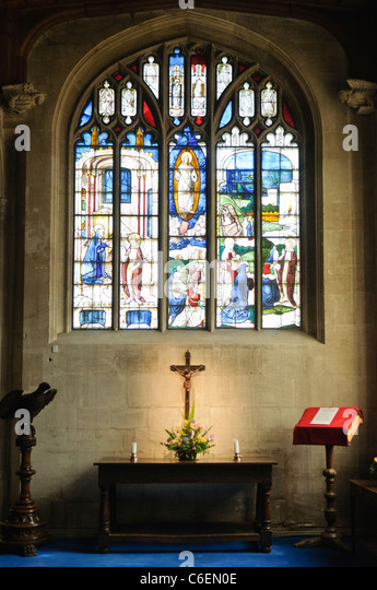 Fairford Church Stained Glass