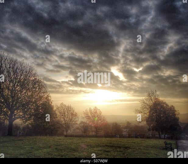 Early Morning - Stock Image