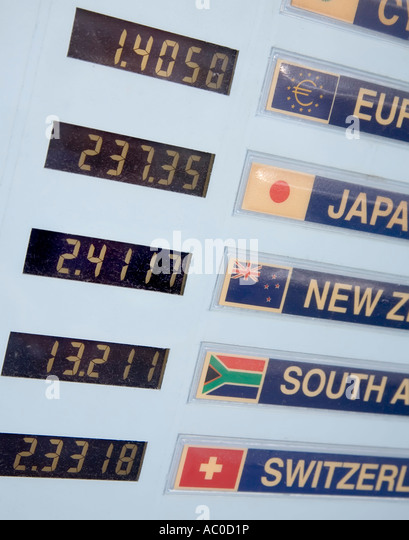 High street forex rates